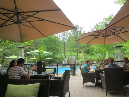 Hockley Valley Resort : View from Babbo Patio