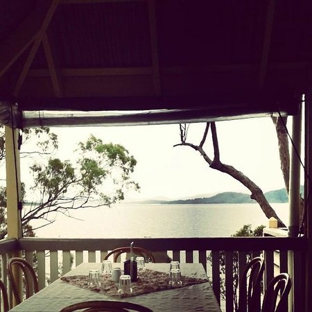 Cormorant Bay Cafe view