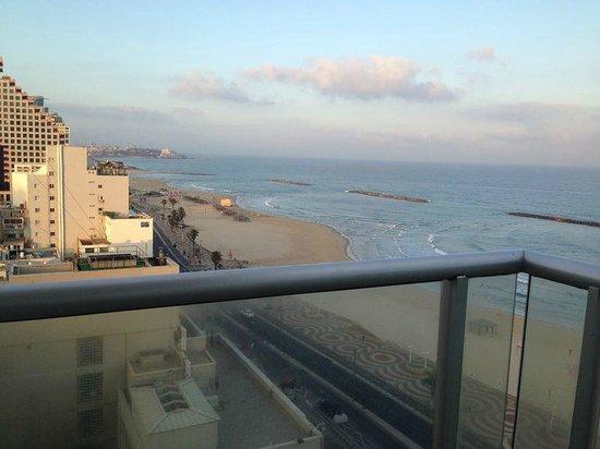 Orchid Tel Aviv: balcony view