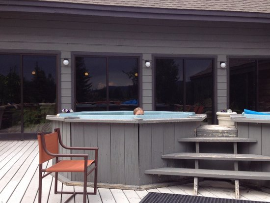 Cascade Village: Hot tubs onsite