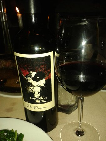 Club A Steakhouse: californian wine