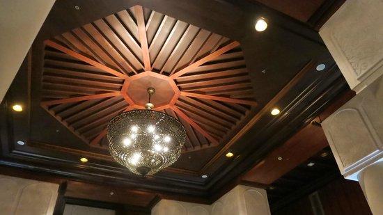 Amala: ceiling detail