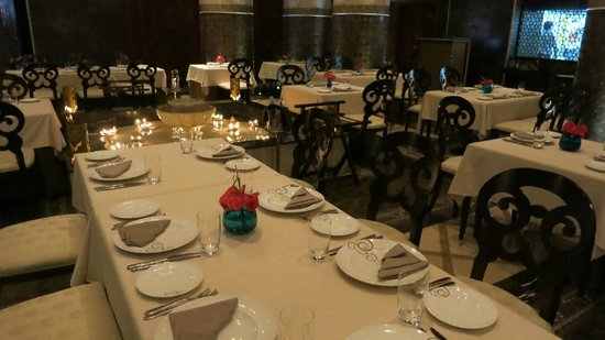 Amala: dining room