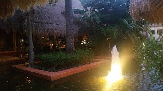 Iberostar Tucan Hotel : Night shot in hotel