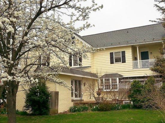 Apple Bin Inn at springtime