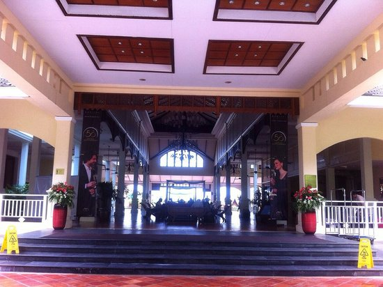 Sofitel Krabi Phokeethra Golf & Spa Resort : Entrance