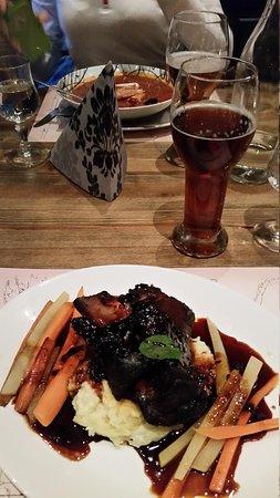 Aegir Brewery & Pub: Our meal