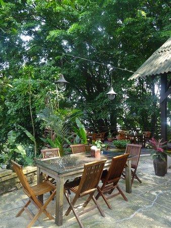 The Dusun: Breakfast area