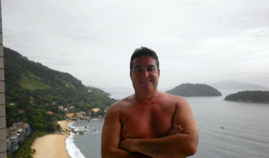 Hotel Porto Real: BALCON DE HABITACION VISTA AL MAR