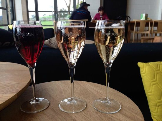 Vinetrekker Wine and Food Tours: Chandon Bubbly
