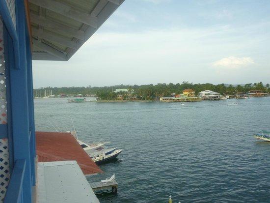 Hotel Bocas Town: Vista desde el apartamento