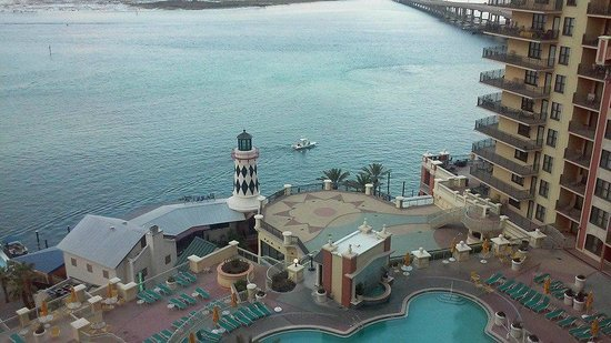 Emerald Grande at HarborWalk Village: The view from our balcony