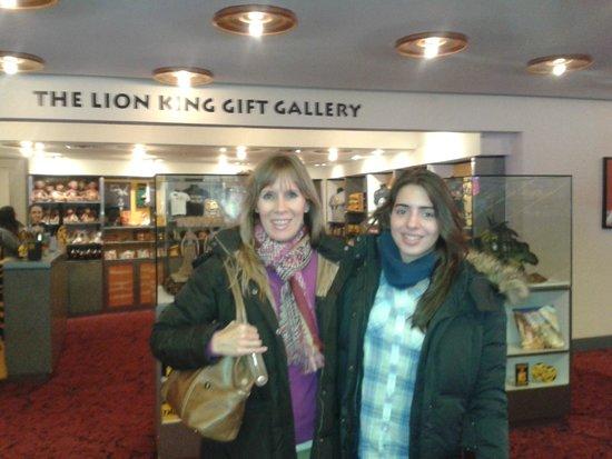 The Lion King: A la salida del show