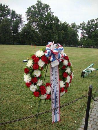 Vietnam Veterans Memorial : Homenagem dos familiares