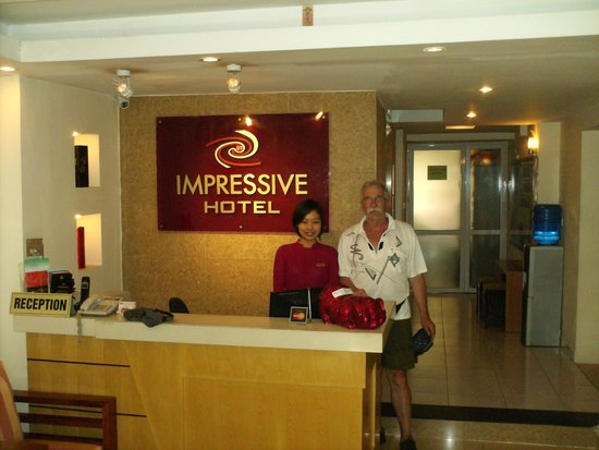Hanoi Impressive Hotel : accueil