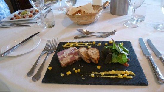 Glewstone Court : Beautifully served & tasty too
