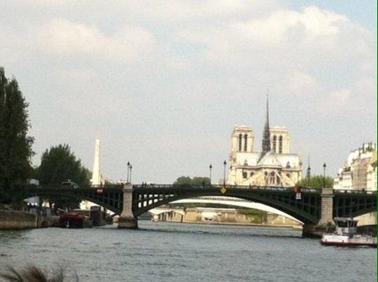 Bateaux Parisiens : Photo prise du bateau