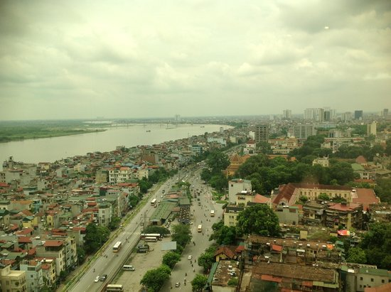 Pullman Hanoi: view from south wing