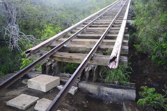 Koko Crater Trail: be careful here