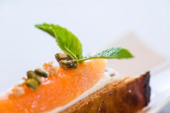 A la Clef d'Or : Nougat et melon confit