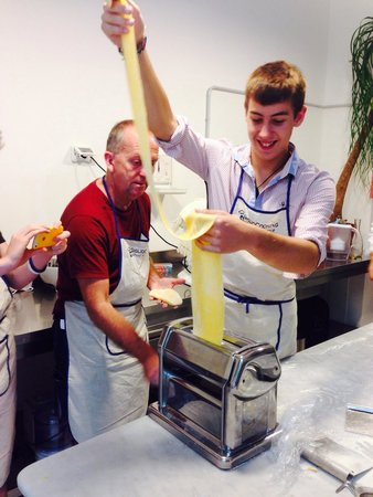 Giglio Cooking Day Course: Pasta fun!!