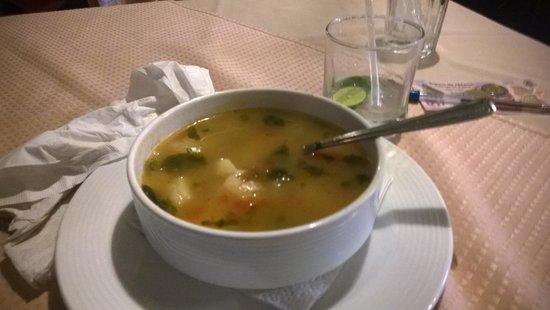The Dock Cafe: Potato soup