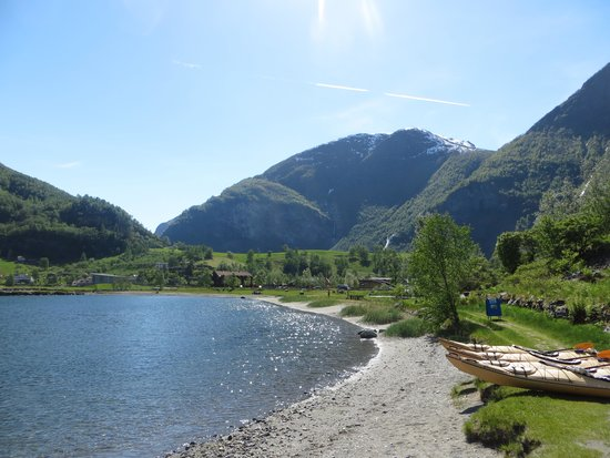 Njord - Seakayak and Wilderness Adventure Day Tours : Njord location on the fjord