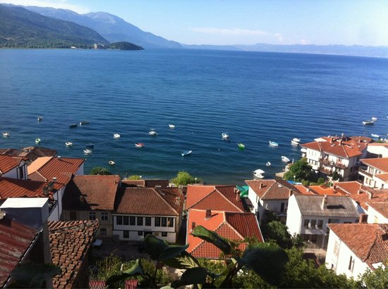 Villa Rustica : Our balcony view