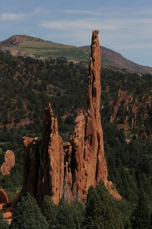 Jardín de los dioses (Garden of the Gods): Many nooks into which to hike