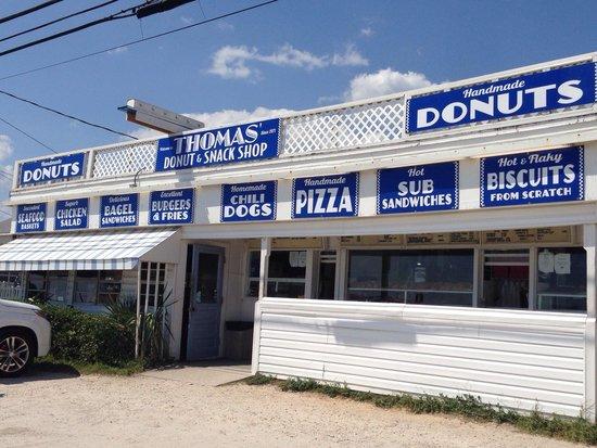 Thomas Donut & Snack shop: Smith family vacation July 2014!