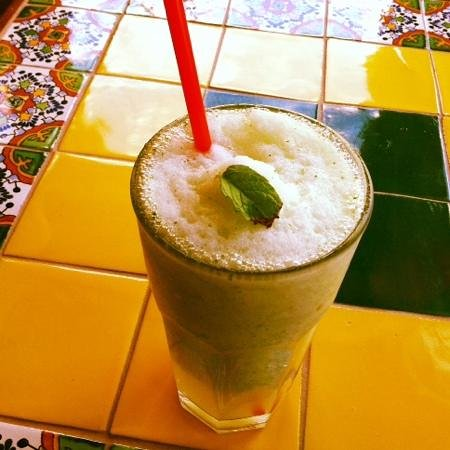 Xetava Gardens Cafe: Lemonade mint slushy