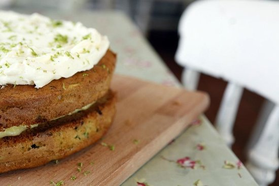 Village Green: The famous Courgette and Lime Cake