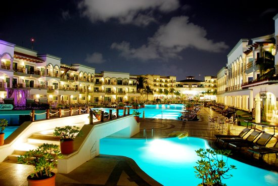 The Royal Playa del Carmen: The Main Pool at The Royal