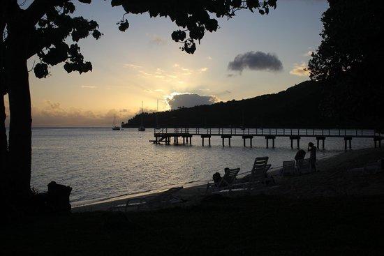 Relais Mahana : Sunset View