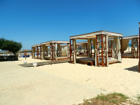 Club Eldorador Salammbo: Beach bar area