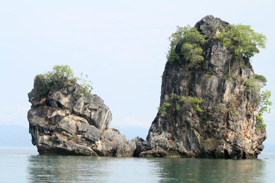 Kilim Karst Geoforest Park: islands around Geoforest Park