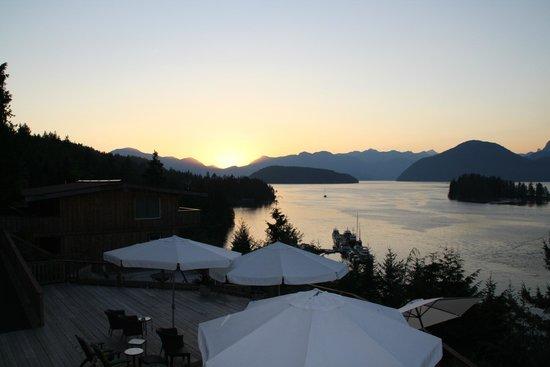 West Coast Wilderness Lodge: view