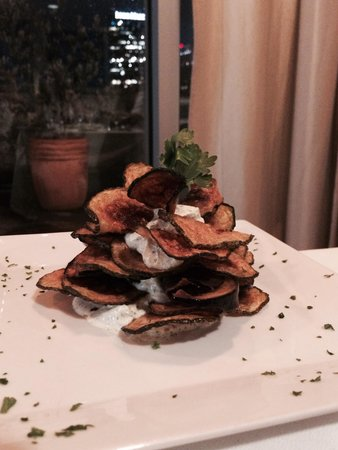 Inn at The Black Olive: Olive room food
