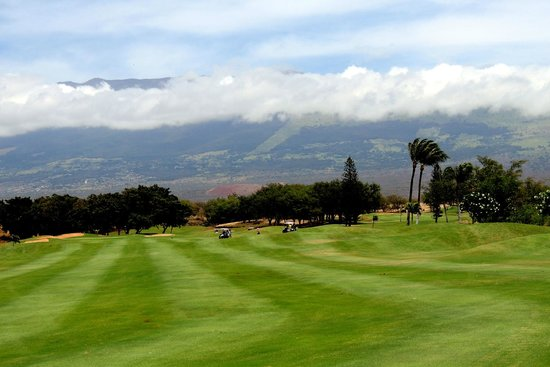 Maui Nui Golf Club: great views