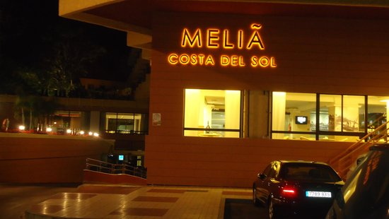 Melia Costa del Sol: Melia by night