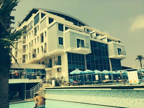 Sealife Family Resort: Fra bassengfet