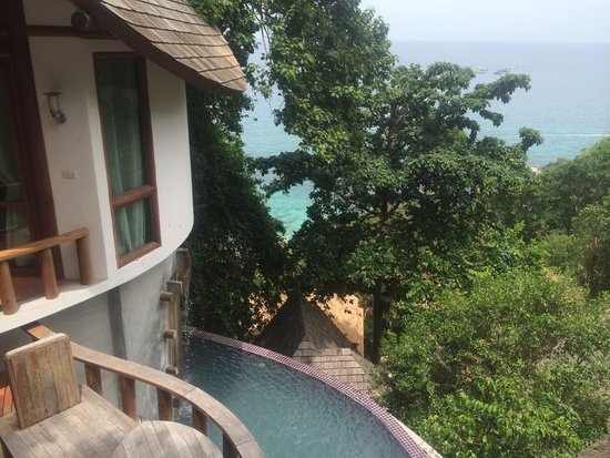Thipwimarn Resort: Princess Pool Villa view plus private plunge pool