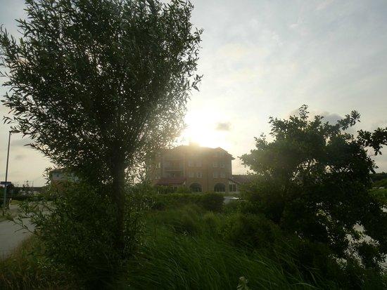 Hotel Greenside: Greenside en de zon