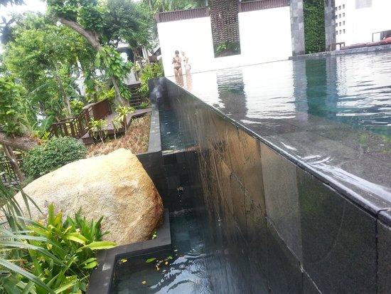 The Kala Samui: The infinity edge pool of the hotel