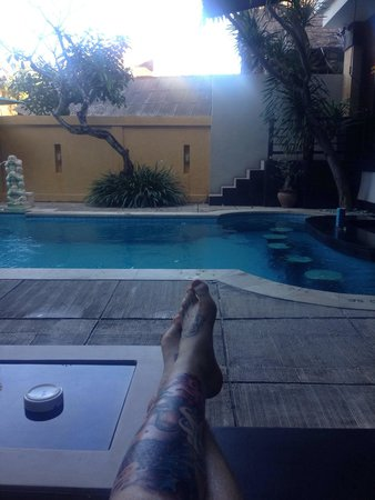 Baleka Resort Hotel & Spa: From the couch next to the pool
