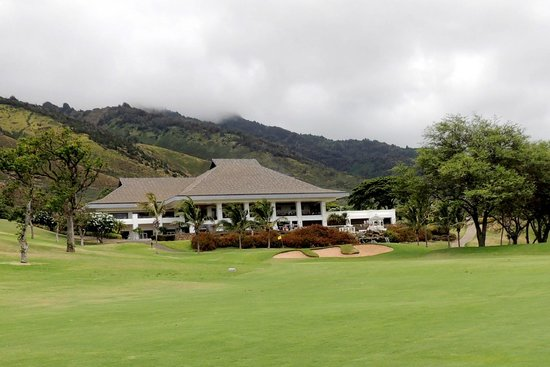 Kahili Golf Course: clubhouse