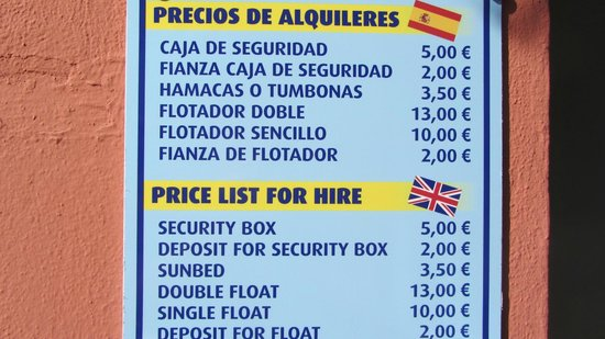 Aqualand Torremolinos: watch your money - its not cheap
