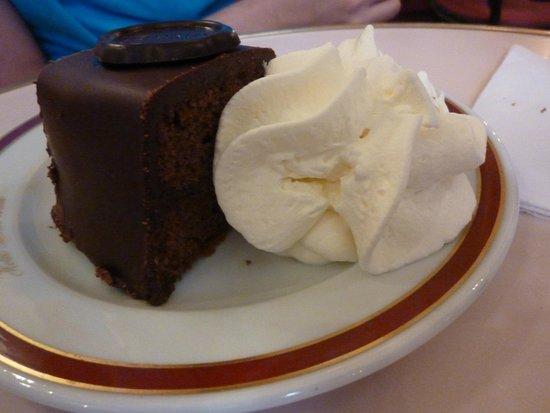 Café Sacher Wien: Sacher torte