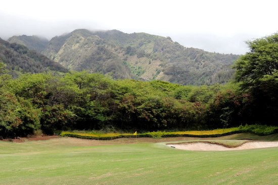 Kahili Golf Course: upcountry views