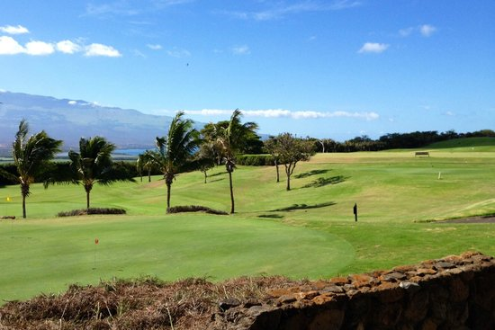 Kahili Golf Course: it can be windy!